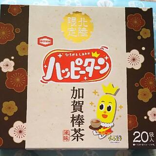 カメダセイカ(亀田製菓)の北陸限定 ハッピーターン 加賀棒茶風味 1箱(菓子/デザート)