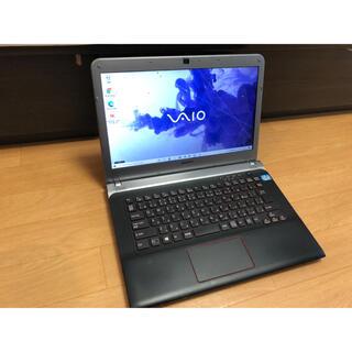 バイオ(VAIO)のSONY  vaio ノートパソコン SVE14AG13N windows10(ノートPC)