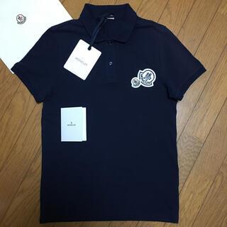 MONCLER - 【人気】モンクレール ポロシャツ XS 国内正規品  ダブルワッペン