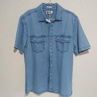 トミー(TOMMY)のTOMMY JENS☆デニムシャツ(シャツ/ブラウス(半袖/袖なし))