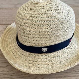 ファミリア(familiar)のファミリア familiar 麦わら帽 49センチ(帽子)