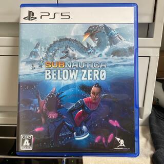 ソニー(SONY)のサブノーティカ: ビロウ ゼロ PS5(家庭用ゲームソフト)
