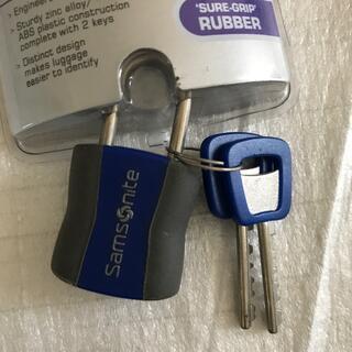 サムソナイト(Samsonite)のサムソナイト key lock/南京錠 新品(旅行用品)