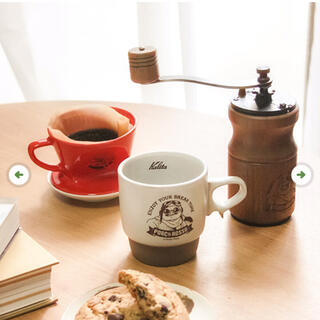 ジブリ(ジブリ)の紅の豚 コーヒーミル スタックマグ 珈琲 ドリッパー セット価格! フルスタック(その他)