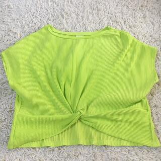 ZARA - ZARA 鮮やから黄緑 152 半袖