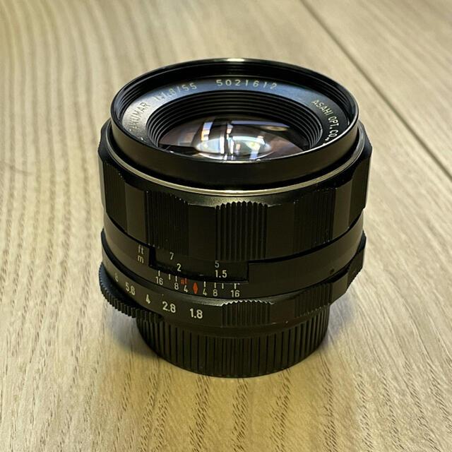 PENTAX(ペンタックス)のSuper-multi-coated takumar 55mm f1.8 スマホ/家電/カメラのカメラ(レンズ(単焦点))の商品写真