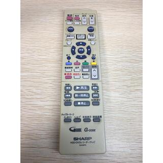 シャープ(SHARP)のはな様専用 シャープ HDD・DVDリモコン GA426PA(DVDレコーダー)
