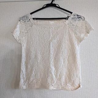 フーズフーチコ(who's who Chico)の半袖 レースTシャツ(Tシャツ(半袖/袖なし))