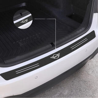 BMW - BMW MINI ミニクーパー バンパー キズ防止 カーボン柄 ステッカー