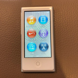 Apple - iPod nano 第7世代 16GB シルバー