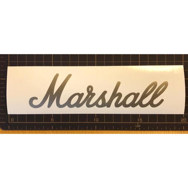 Gibson(ギブソン)のマーシャル カッティングステッカー 楽器のギター(ギターアンプ)の商品写真