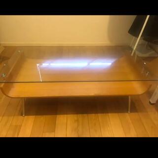 ガラステーブル ※送料なしの場合、大幅お値下げ可能です(ローテーブル)