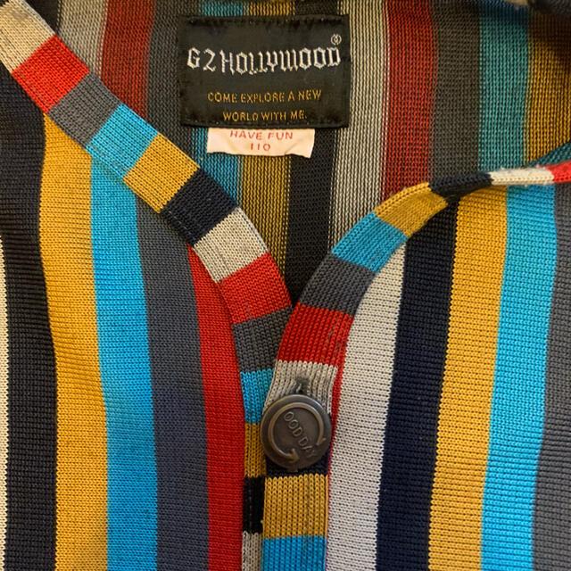 GO TO HOLLYWOOD(ゴートゥーハリウッド)のGO TO HOLLYWOOD(ゴートゥーハリウッド)カーディガン110 キッズ/ベビー/マタニティのキッズ服女の子用(90cm~)(カーディガン)の商品写真