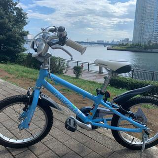 ルイガノ(LOUIS GARNEAU)の子供用自転車 ルイガノ 16インチ(補助輪・補助ハンドル付)(自転車)
