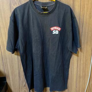 ナイトレイド(nitraid)のnitraid 黒 Tシャツ(Tシャツ/カットソー(半袖/袖なし))