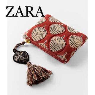 ザラ(ZARA)の24 ZARA ザラ 新品 キルティング プリントポーチ(ポーチ)