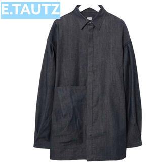 1LDK SELECT - 【E.TAUTZ】イートウツ LINEMAN シャツ 長袖 モード ストリート