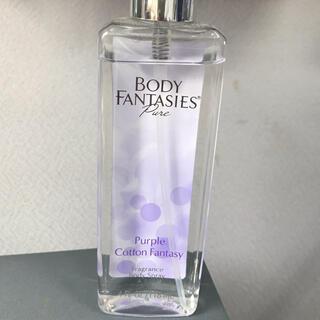 ボディファンタジー(BODY FANTASIES)のボディファンタジーピュア ボディスプレー パープルコットンの香り(香水(女性用))