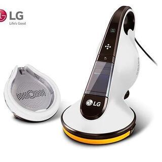 エルジーエレクトロニクス(LG Electronics)の新品同様LGふとんパンチクリーナーUV除菌ステーションスタンド付VH9231DS(掃除機)