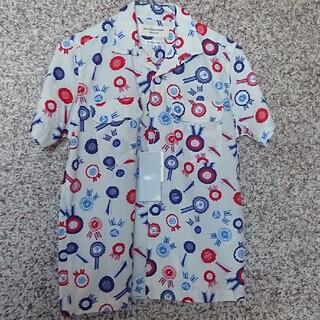 ビームスボーイ(BEAMS BOY)のBEAMSBOY ロゼット柄 シャツ(シャツ/ブラウス(半袖/袖なし))