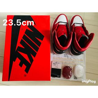 ナイキ(NIKE)のNIKE AIR JORDAN 1 HIGHT OG SATIN RED(スニーカー)