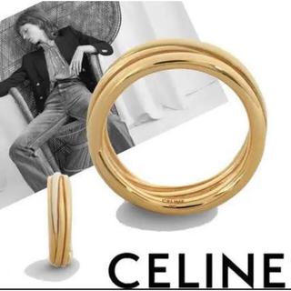セリーヌ(celine)のセリーヌ アントルラリング ENTRELACS 指輪 リング 新品未使用 真鍮(リング(指輪))