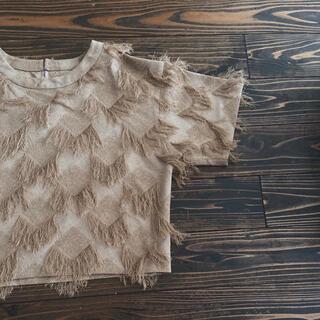 サンタモニカ(Santa Monica)のused フリンジトップス(シャツ/ブラウス(半袖/袖なし))