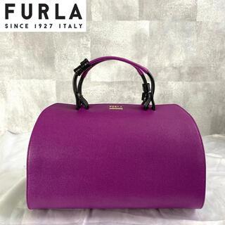 フルラ(Furla)の【FURLA】フルラ VENUS 希少 定価95,700円 レザー ハンドバッグ(ハンドバッグ)