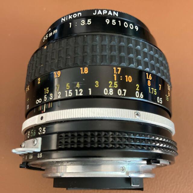 Nikon(ニコン)のnikkor 50mm F1.4&micro-nikkor 55mm f3.5 スマホ/家電/カメラのカメラ(レンズ(単焦点))の商品写真