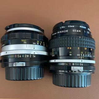 Nikon - nikkor 50mm F1.4&micro-nikkor 55mm f3.5