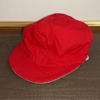 新品☆赤白帽 (帽子)