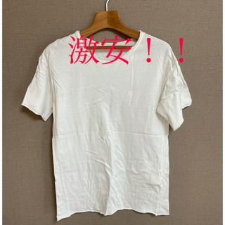 タトラス(TATRAS)のv:roomのヴィンテージ加工Tシャツ(Tシャツ/カットソー(半袖/袖なし))
