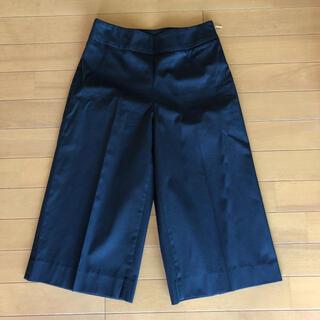 ノーブル(Noble)のNOBLE ブラック 膝下パンツ 34(カジュアルパンツ)