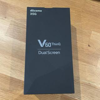 エルジーエレクトロニクス(LG Electronics)のLG V60 ThinQ 5G (L-51A)(スマートフォン本体)