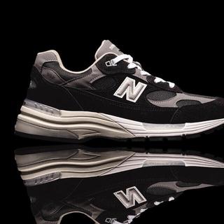 ニューバランス(New Balance)の27cm M992EB 黒灰 ニューバランス NEW BALANCE新品未使用(スニーカー)
