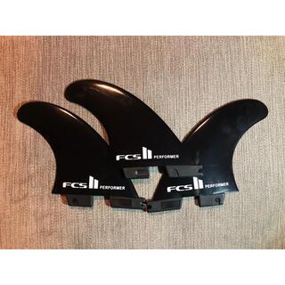 サーフィン FCS2 performer Mサイズ フィン 3枚セット ブラック(サーフィン)
