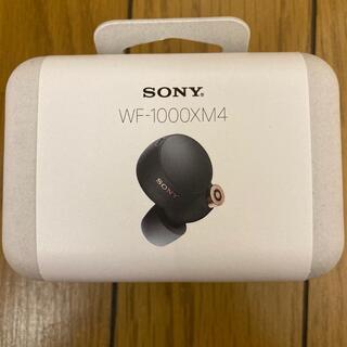 ソニー(SONY)の2個セットSONY フルワイヤレスイヤホン ブラック WF-1000XM4 BM(ヘッドフォン/イヤフォン)