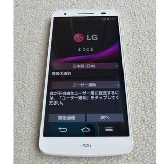 au - 【中古】au  LGL22  ホワイト