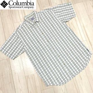 Columbia - 【used】Columbia Design check shirt