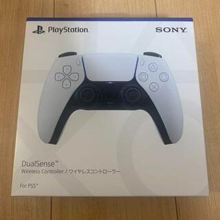 SONY - 美品 DualSense ワイヤレスコントローラー PS5 ホワイト 純正