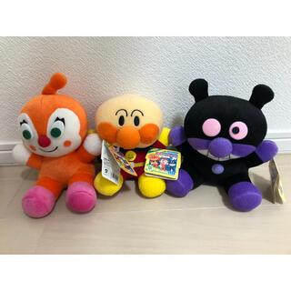 バンダイ(BANDAI)のアンパンマン バイキンマン ドキンちゃん ぬいぐるみセット(ぬいぐるみ/人形)