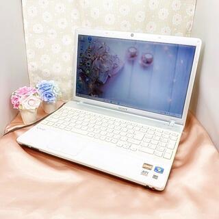 SONY - 格安【大人気❁webカメラ】銀/白色・サクサク動作・テレワークに・ノートパソコン