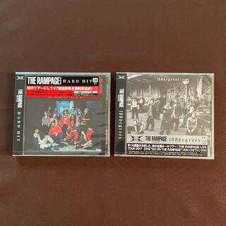 ザランページ(THE RAMPAGE)のTHE RAMPAGE  CD2点セット(ポップス/ロック(邦楽))