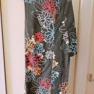 ユニクロ(UNIQLO)の浴衣 中古ゆかた 帯セット(浴衣)