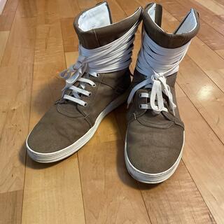 ディオールオム(DIOR HOMME)のディオールオム スニーカー サイズ41 DIORHOMME ハイカット 靴(スニーカー)