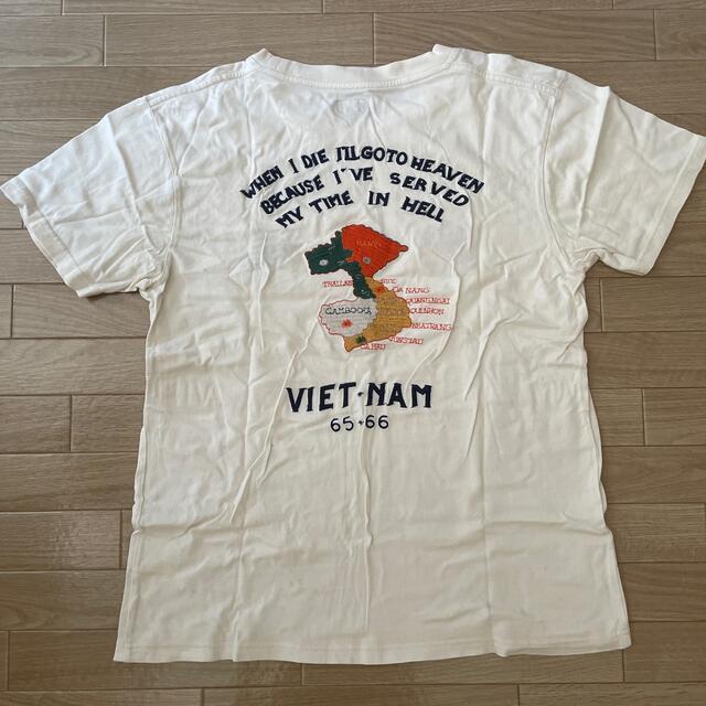 東洋エンタープライズ(トウヨウエンタープライズ)の東洋エンタープライズ刺繍半袖Tシャツ メンズのトップス(Tシャツ/カットソー(半袖/袖なし))の商品写真