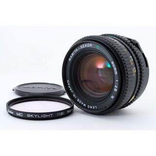 マミヤ(USTMamiya)の美品 マミヤ MAMIYA SEKOR C 80mm F2.8 N(レンズ(単焦点))