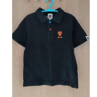 アベイシングエイプ(A BATHING APE)のBAPE KIDS ポロシャツ 120 正規品ベイプキッズ エイプ(その他)