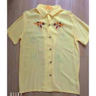ディズニー(Disney)のdisney ティガー アロハシャツ S(シャツ/ブラウス(半袖/袖なし))
