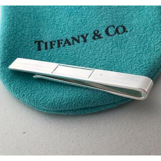 ティファニー(Tiffany & Co.)のTiffany ストライプ柄 マネークリップ(マネークリップ)